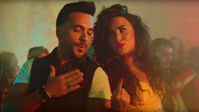 Luis Fonsi and Demi Lovato drop the video to Echame La Culpa