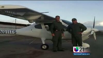 Investigan accidente aéreo