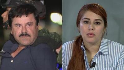 Una de las amantes de 'El Chapo' Guzmán declaró que le tenía amor y miedo