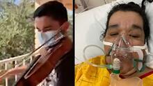 Adolescente lleva serenata a su madre de forma virtual con la esperanza de que logre vencer al coronavirus