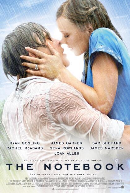 Es la historia de amor de Noah Calhoun (Ryan Gosling) y Allie Hamilton (Rachel McAdams), dos jóvenes adolescentes que a pesar de vivir en dos ambientes sociales muy diferentes, se enamoraron profundamente y pasaron juntos un verano inolvidable, antes de ser separados, primero por sus padres, y más tarde por la guerra.