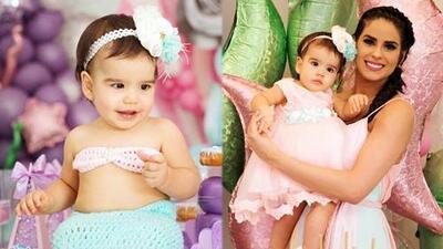 Las fotos del tierno festejo de Vanessa de Roide por el primer cumpleaños de su bebé Penélope