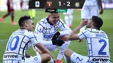 Lukaku y Lautaro le dan el triunfo al Inter sobre el Torino