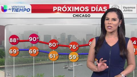 Posibilidad de tormentas en Chicago