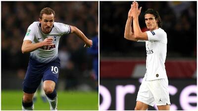 ¡Felicidad en Tottenham y PSG! Sus goleadores están cerca del regreso