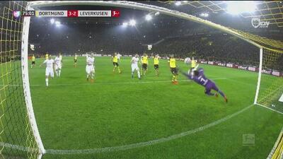 Jonathan Tah abre la esperanza del Leverkusen a través de un letal de cabezazo