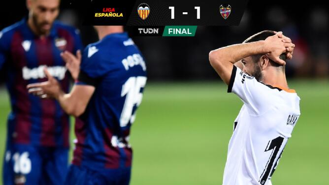 """Levante le arruina el """"otro derbi"""" a Valencia"""