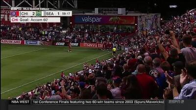 El equipo de Schweinsteiger le pasó por encima al actual campeón Seattle Sounders