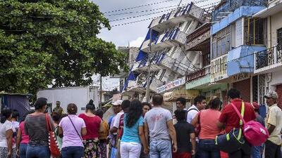 Panorama en México tras terremoto: deslizamientos, desbordamientos de ríos e inundaciones por el huracán Katia