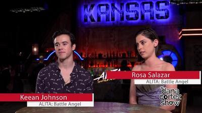 Dana Cortez Show goes behind the scenes of ALITA: Battle Angel