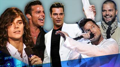 Ricky Martin de melena larga a ser la bomba latina: estos han sido los 9 cambios más impactantes del boricua