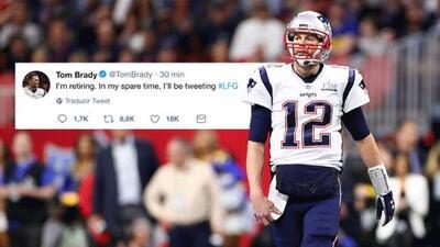 ¿Se retira? Tom Brady jugó con los sentimientos de sus fans