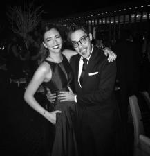 Regina Blandón muestra su lado más romántico con Roberto Flores
