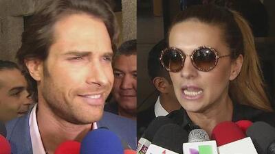 Sebastián Rulli y Cecilia Galliano se enfrentaron en las tribunales y salieron echando humo