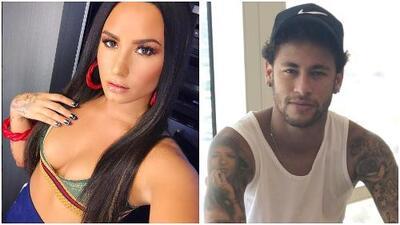 ¿Romance en puerta? Neymar y Demi Lovato publican una foto que levanta sospechas