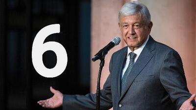 Las 6 promesas de López Obrador que asegura cumplirá al iniciar su mandato