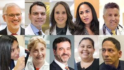 Estos 23 hispanos son un ejemplo en los servicios de salud de EEUU