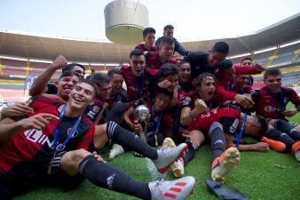 En fotos: Atlas conquista por segunda vez la Liga MX Sub-20 venciendo a Rayados