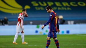 Desde España confirman la sanción de Messi tras su expulsión