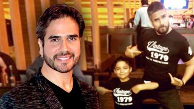 Daniel Arenas envió un emotivo mensaje para su 'hijo adoptivo'