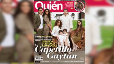 Bibi Gaytán, Eduardo Capetillo y sus cinco hijos abrieron las puertas de su rancho y esto encontró una periodista