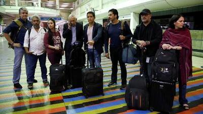 Paso a paso cómo se inició el incidente entre Nicolás Maduro y el equipo periodístico de Univision