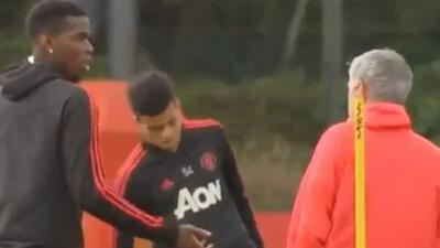 ¿Qué le dijo Mourinho a Paul Pogba?
