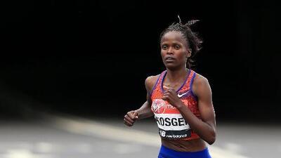 Brigid Kosgei rompe la marca mundial en el maratón de Chicago