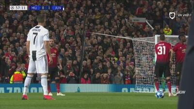 De Gea le negó el gol a CR7 de forma increíble
