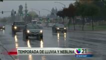 Llueve en el valle central pero las autoridades alertan al público sobre los peligros en las carreteras