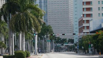 Miami es hoy una ciudad fantasma