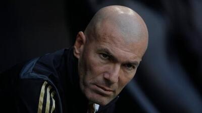 Las 10 problemas de Zinedine Zidane con el Real Madrid
