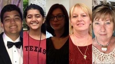 Estas son las víctimas mortales del tiroteo en una escuela secundaria de Texas