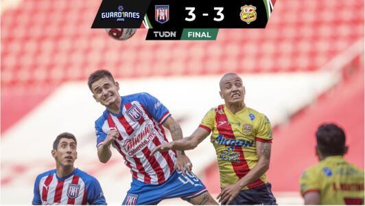 Resumen   Festival de goles y partidazo en Tapatío 3-3 Club Atlético Morelia