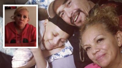 """""""Aquí tenemos tus regalos"""": entre lágrimas, la mamá de Karla Luna no supo nada de sus nietas en Navidad y les envió un mensaje"""
