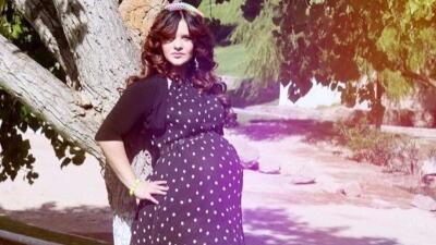 Estas son las fotografías de Allisson Lozz embarazada que permanecieron ocultas por años
