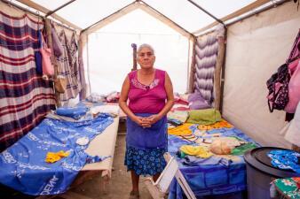 """""""Aquí no ha parado de temblar"""": Oaxaca intenta levantarse a seis meses de los terremotos"""