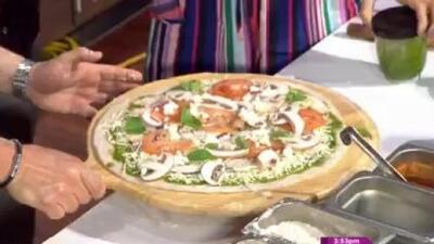 La receta: pizza artesanal