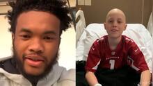 Kyler Murray, QB de Cardinals, envía emotivo mensaje a fan que entró a cirugía