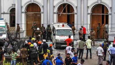 Cubierto por el luto de los atentados que han dejado al menos 290 víctimas, Sri Lanka sufre un nuevo estallido