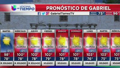 Se pronostican temperaturas de sensación hasta los 110 grados