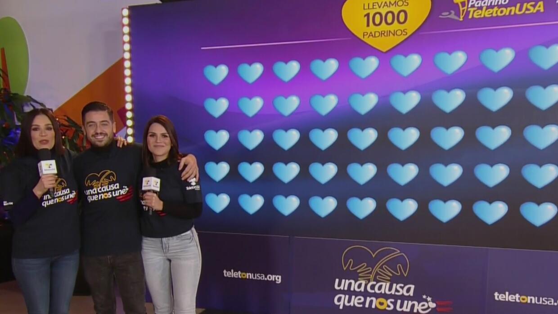 Con un éxito total, el especial de TeletónUSA capta 1,000 padrinos que ayudarán a niños con capacidades diferentes | Teletón USA | Univision