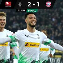 ¿El rey ha muerto? El Gladbach da voltereta de último minuto al Bayern