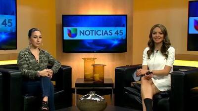 Beatriz Solis, hija de Beatriz Adriana y el Buki visita Houston