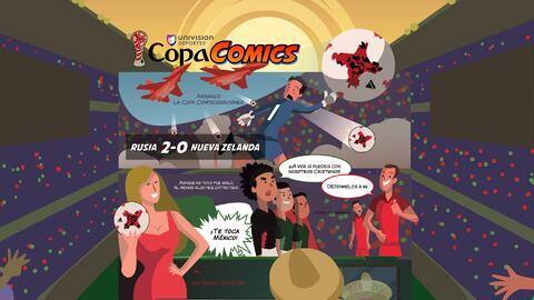 CopaComics: ¡México, llegó la hora de brillar en Rusia!