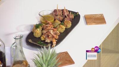 Receta: Tapas de celebración estilo chef Vivoni