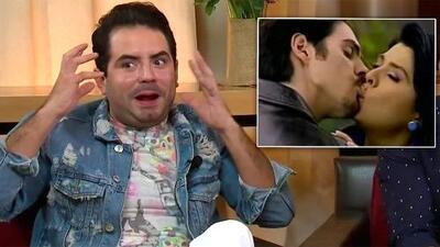 Esta es la reacción de José Eduardo Derbez al recordar que Mauricio Ochmann besó en una novela a su mamá