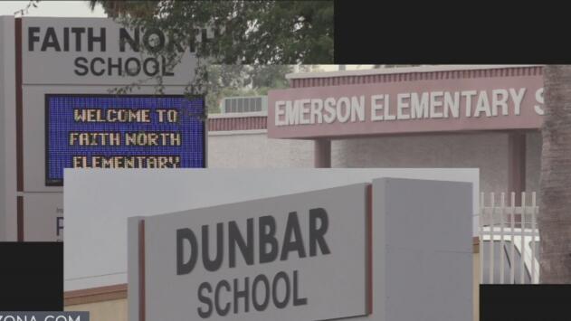 Padres de familia preocupados por el posible cierre de tres escuelas en Phoenix