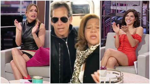 La Flaca y Alejandra Espinoza aplaudieron la viral reacción de una dominicana al ver a Ben Stiller en el metro