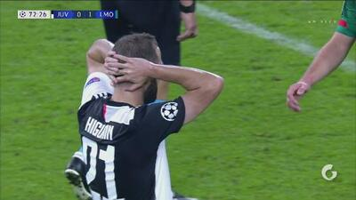 ¡La Juve no afloja en ataque! Higuaín se quedó cerca del empate